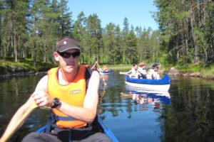 Paddling och kanotäventyr