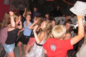 Disco i discoklubben!
